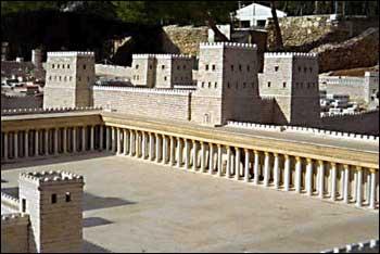 Antonia Fortress - Court of Gentiles - Jewish Social Life