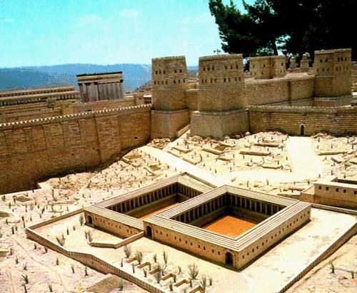 Antonia Fortress - Pool - Jewish Social Life