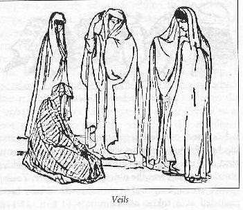 Veils Women Wore - Jewish Social Values